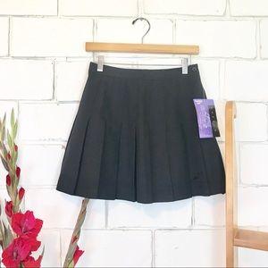 Vintage deadstock Reebok tennis skirt black